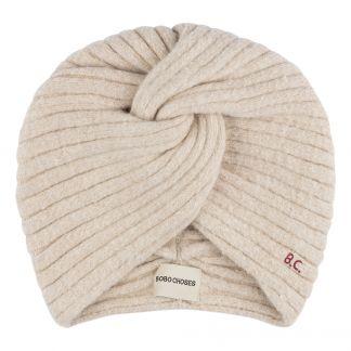 28d6f4953 Twisted Beanie Hat Cream