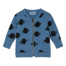 product-Bobo Choses Sweat Zippé Planètes