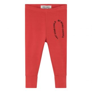 Starchild Organic Cotton Leggings Red