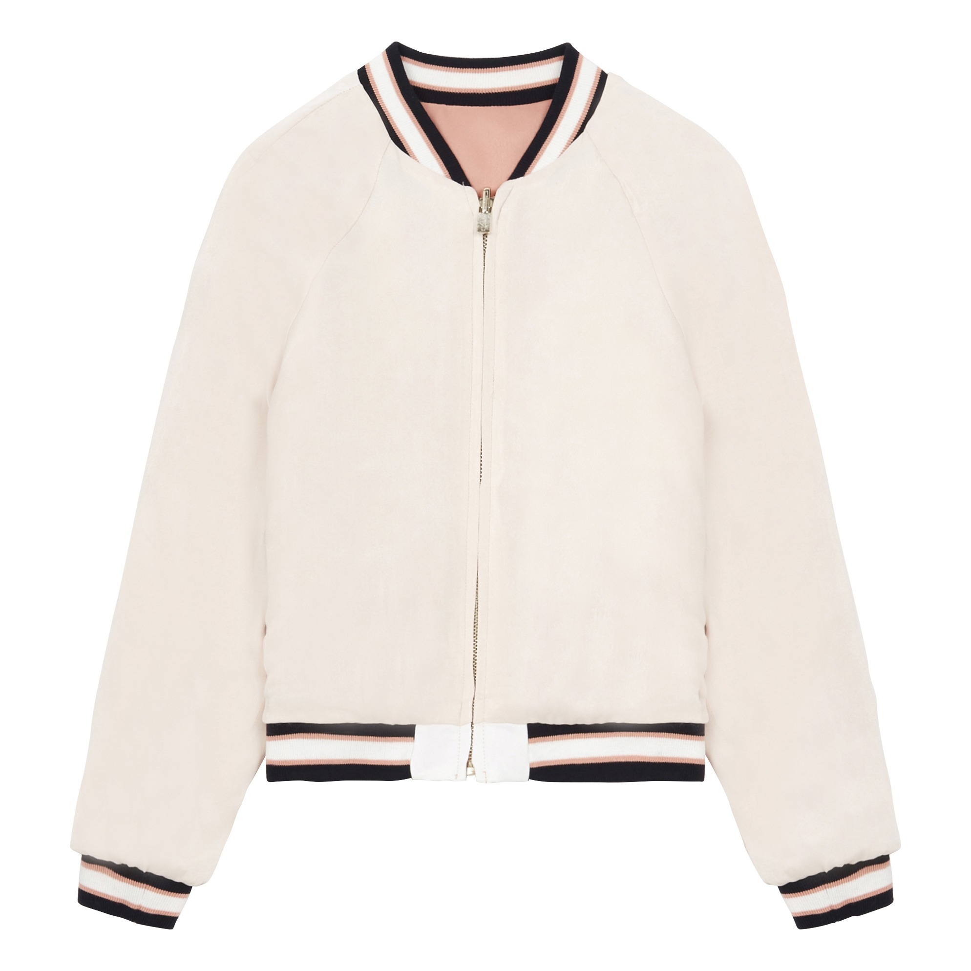 f2289575f Reversible Bomber Jacket Pink Chloé Fashion Teen , Children