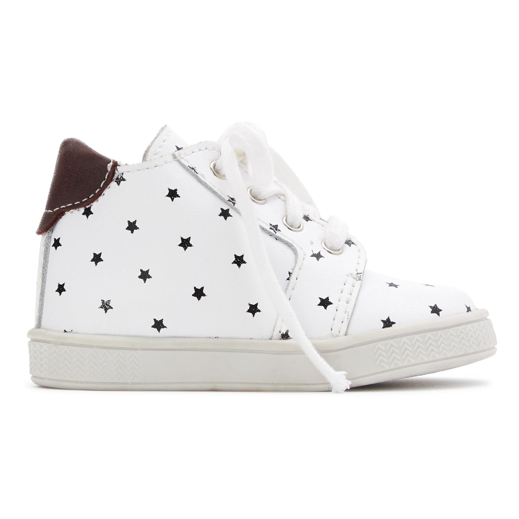 official images best price look good shoes sale Star Lace-up Trainers Ecru Bonton Shoes Baby
