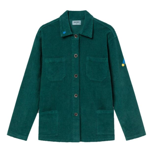 buy online 26afd 1112d Giacca velluto a coste collezione donna Verde foresta