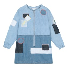 product-Stella McCartney Kids Vestido Vaquero Parches