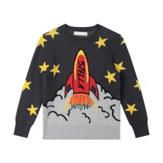 product-Stella McCartney Kids Rocket Organic Cotton Jumper