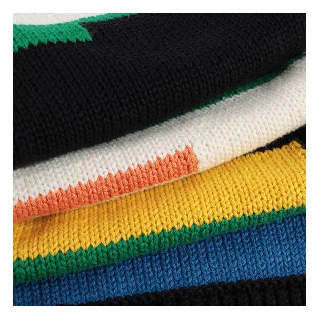 antideslizantes 12 perchas HLC de extremo abierto para pantalones negras