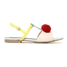 product-Stella McCartney Kids Cherry leather sandals
