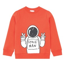 product-Stella McCartney Kids Cosmonaute Organic Cotton Sweatshirt