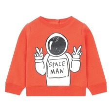 product-Stella McCartney Kids Cosmonaute Organic Cotton Baby Sweatshirt