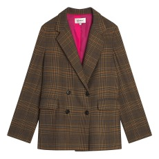 product-Bonpoint Marly Check Jacket - Women's Collection -