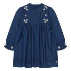 product-Tartine et Chocolat Vestido chambray
