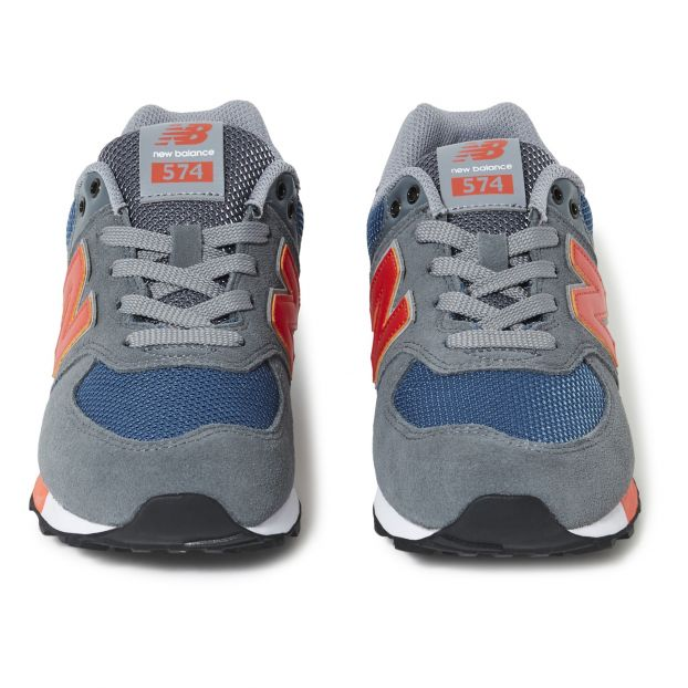 Sneakers Lacci Multi materiale 574 Grigio antracite