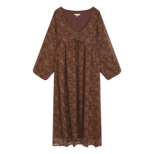 776b09d6d69e8f Dress Chala -Collection Femme- Noisette