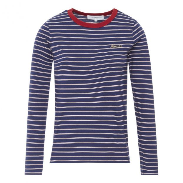 0e735b51b2 Blondie Striped T-Shirt - Women's Collection - Navy blue