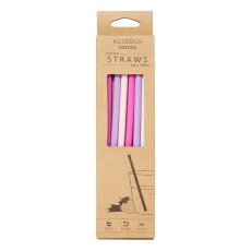 product-KG Design Silicon Straws - Set of 6