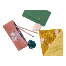 product-Louise Misha Gaby Velvet Pencil Case