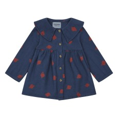 product-Bobo Choses Robe Boutonnée Coton Bio