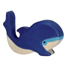 product-Holztiger Small Whale Wooden Figurine