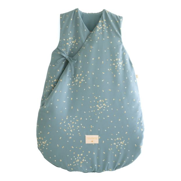finest selection 6d9d3 6666a Cloud Confetti Organic Cotton Winter Baby Sleeping Bag Green