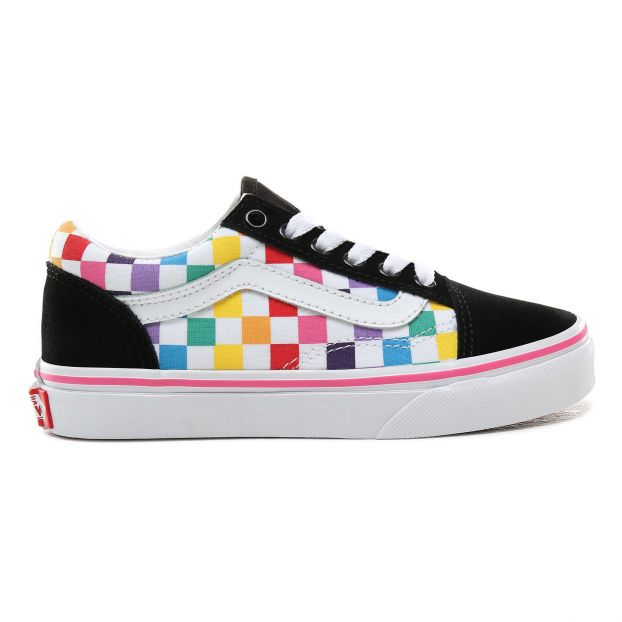 convenience goods new & pre-owned designer women Old Skool Checkerboard Trainers Black