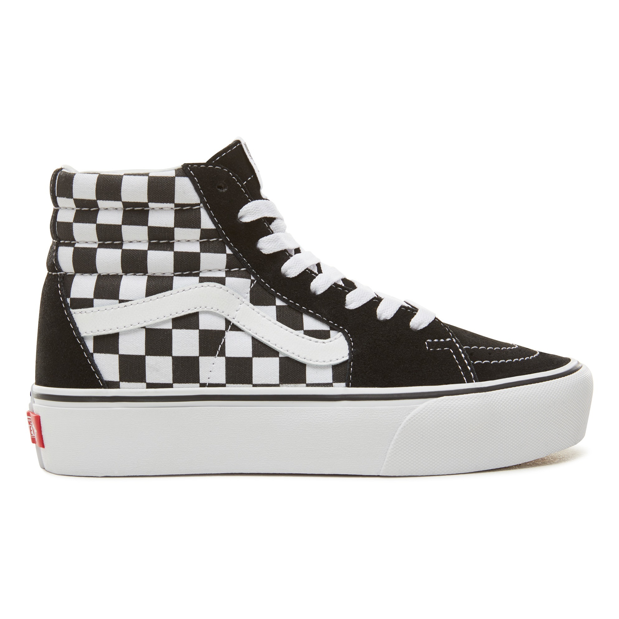 Sneakers UA Sk8-Hi Platform 2.0 quadri Nero Vans Scarpe Adulto