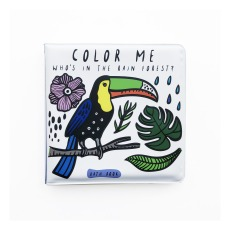 "product-Wee Gallery ""Color Me: Who's In The Rain Forest"" Bath Book"