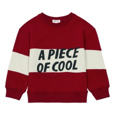 product-Hundred Pieces Piece of Cool Asymmetrical Stripes Sweatshirt