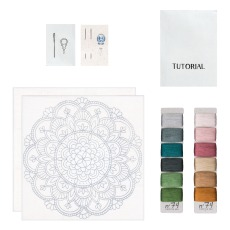 product-Numero 74 Calm DIY Mandala Embroidery Kit