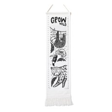 product-Wee Gallery Organic Cotton Canvas Growth Chart
