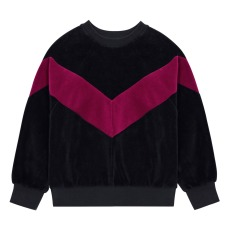 product-Hundred Pieces Velour sweatshirt
