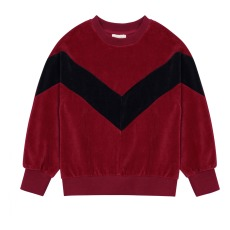 product-Hundred Pieces Velours Sweatshirt