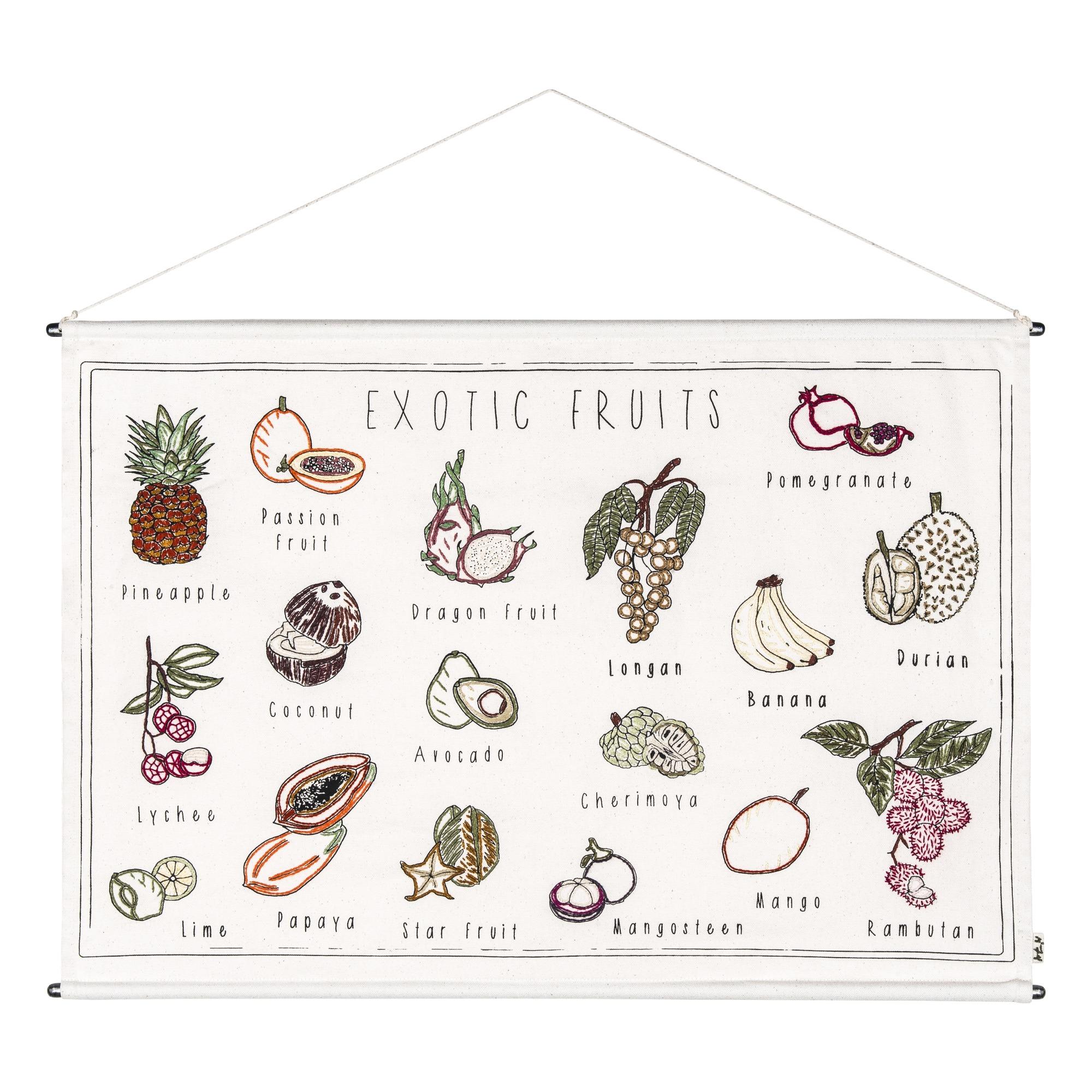 Poster bestickt Exotische Früchte Tophit, Offer 279