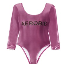 product-Hundred Pieces Aerobic shiny bodysuit