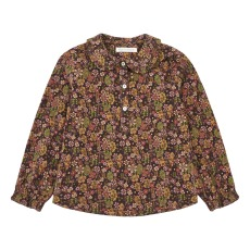 product-Zhoe & Tobiah Floral Velvet Shirt