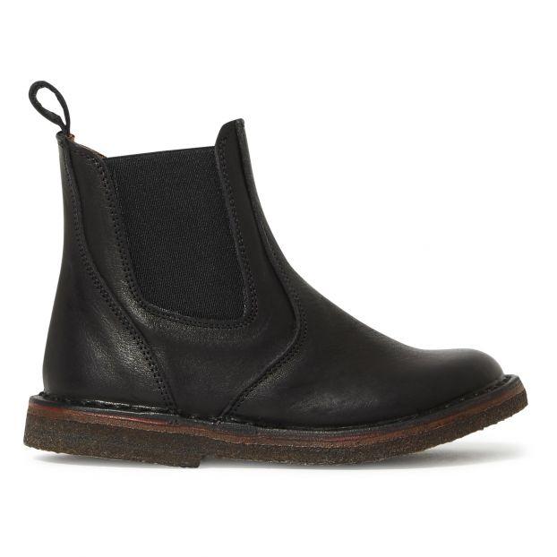 big sale 51ca5 dc221 Chelsea Boots mit Reißverschluss Schwarz