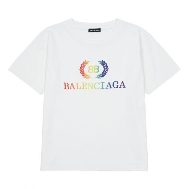 tout neuf 1c3d9 4ef3f New Logo T-Shirt White