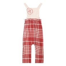 product-Yellowpelota Check Dungarees