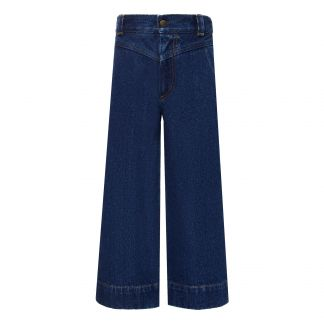 best loved 38fb4 c6aa8 Pantaloni Jean Flare Demin
