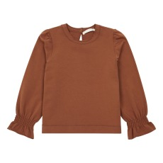 product-Zhoe & Tobiah Ruffled Sweatshirt