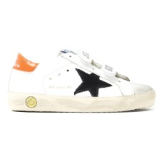 product-Golden Goose Deluxe Brand Old School Bi-material Velcro Trainers