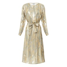 product-Valentine Gauthier Robe Soie Lurex Louisiane