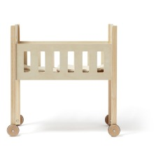 product-Kid's Concept Wooden Doll Bed