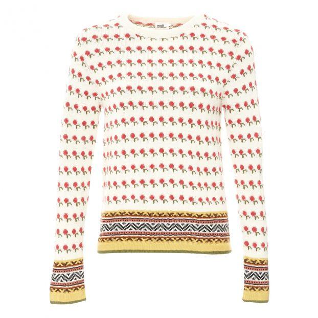 prezzo folle ultima selezione del 2019 moda firmata Maglione Jacquard Jolly - collezione donna Rosa