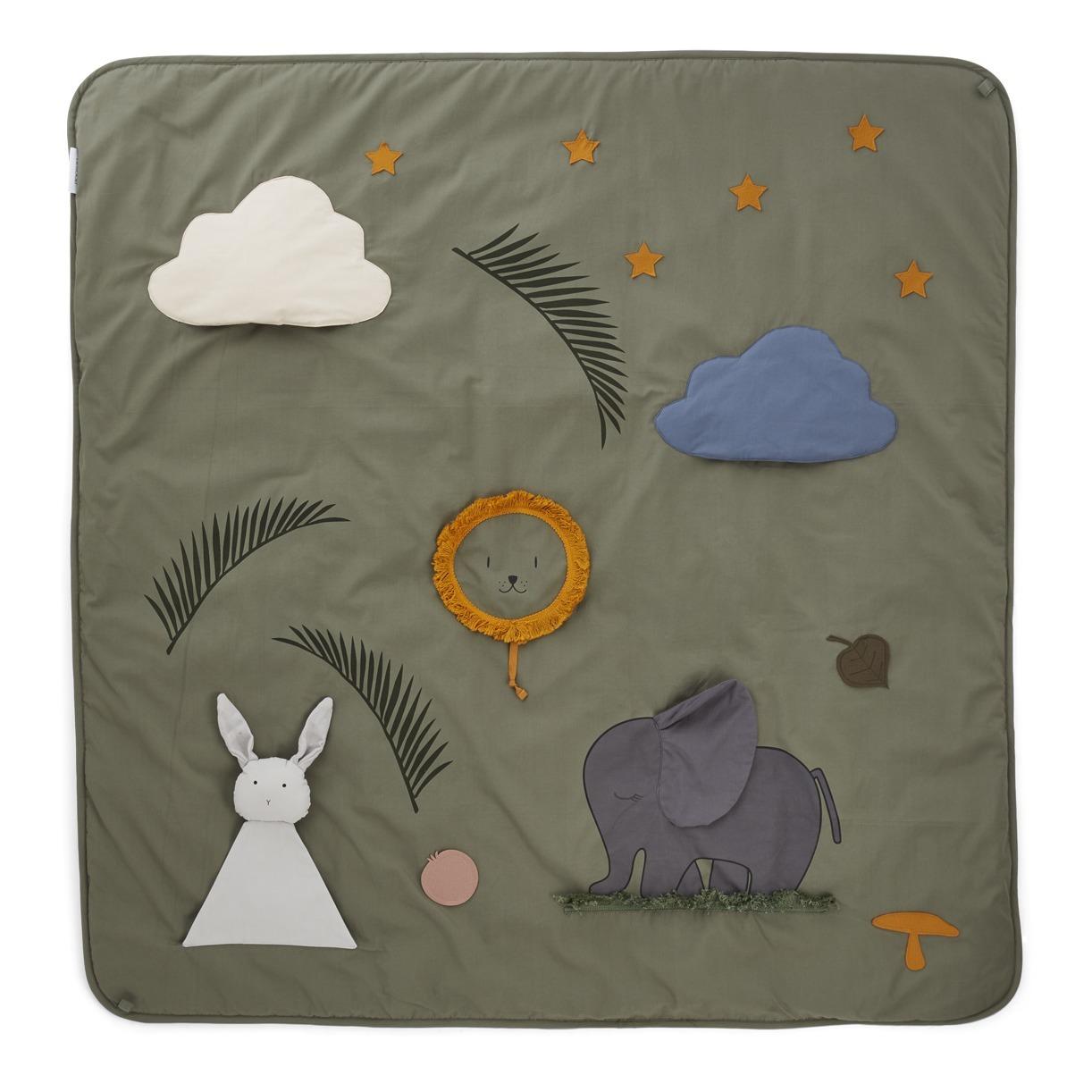 color gris Done By Deer Activity Play Mat Alfombra de juegos