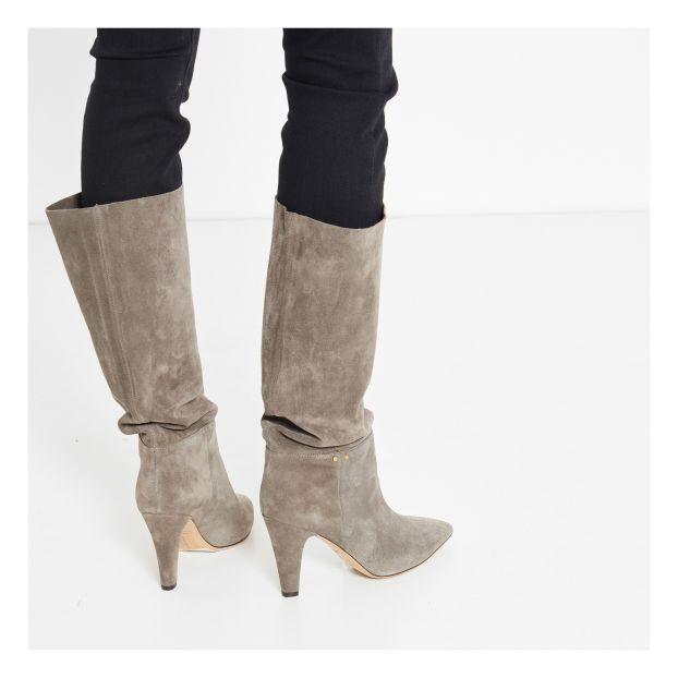 Sandie 95 Boots Grey Jérôme Dreyfuss Shoes Adult