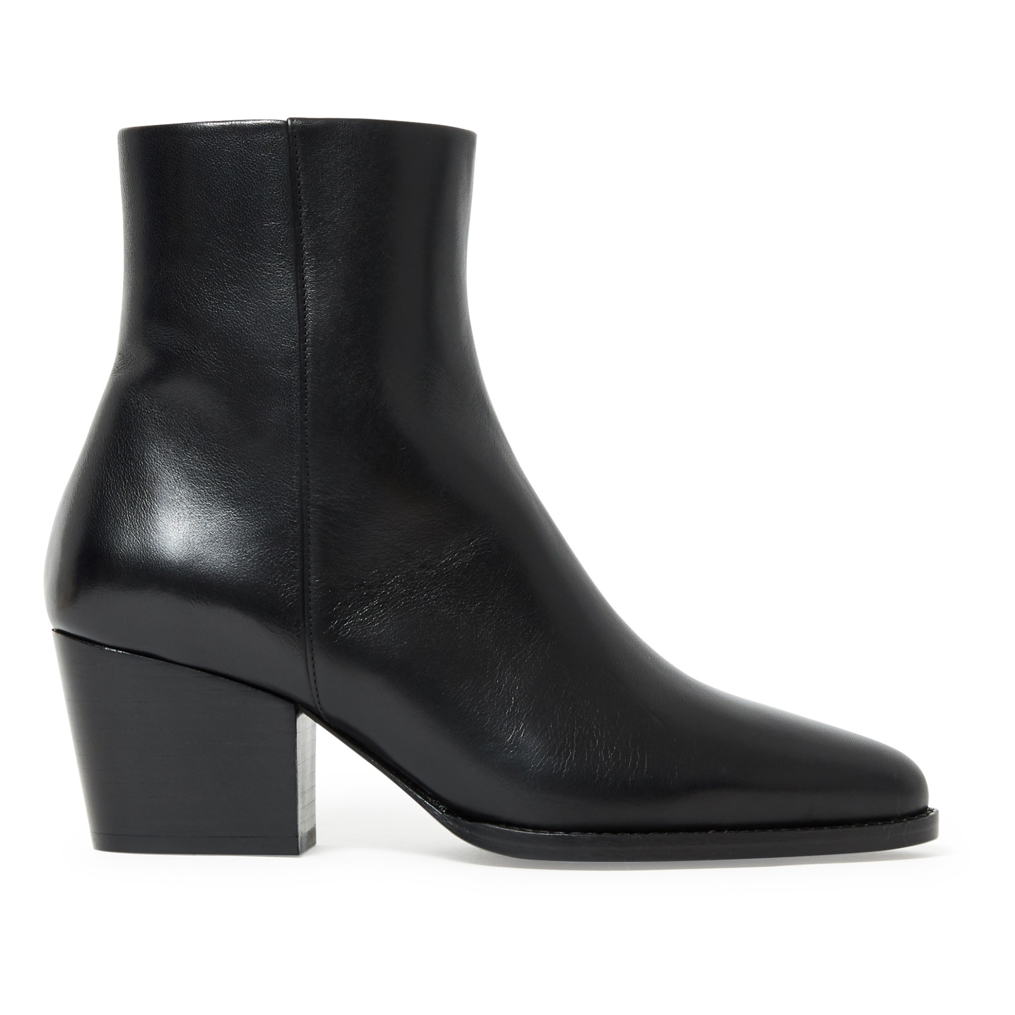 Nâ°700 Leather Ankle Boots