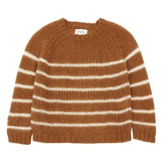 product-Hartford Malevi Striped Mohair Jumper