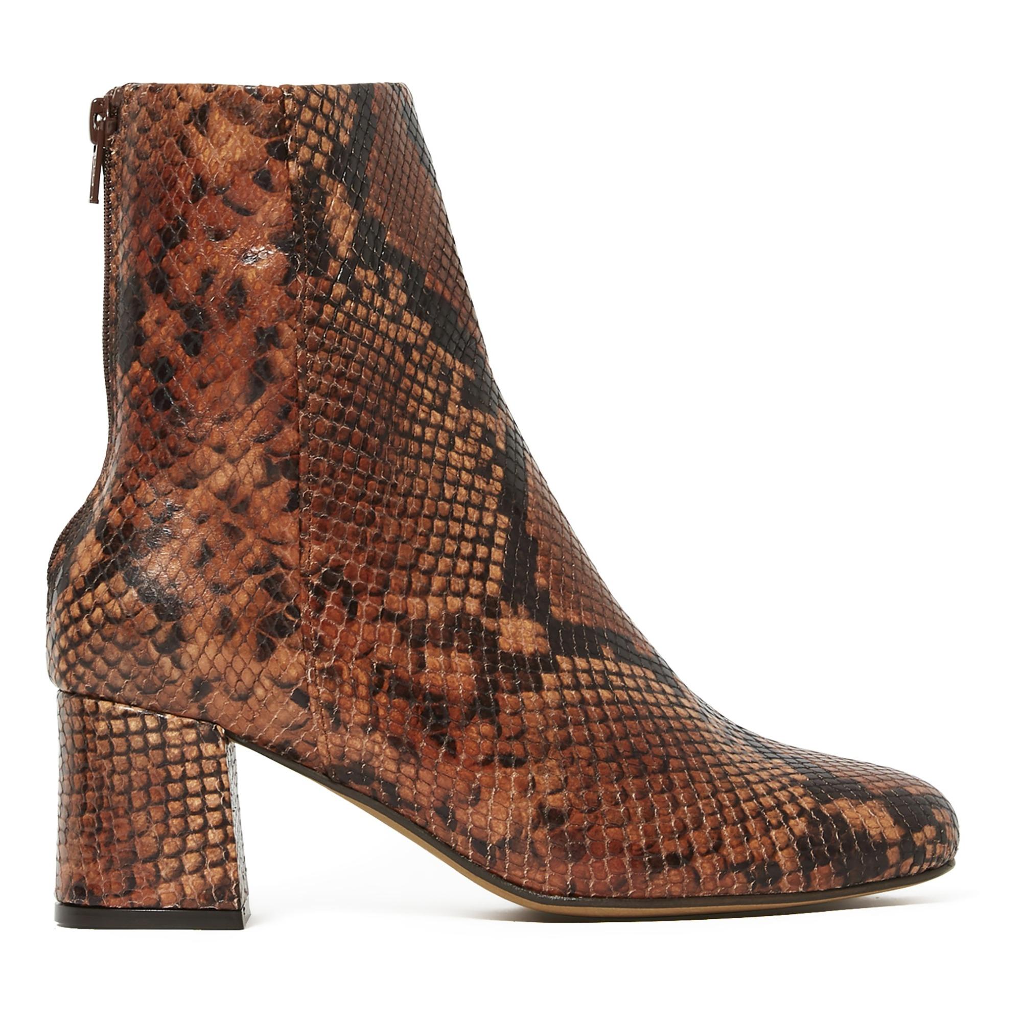 Daniela Python Boots