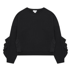 product-Stella McCartney Kids Organic Cotton Ruffled Sweatshirt