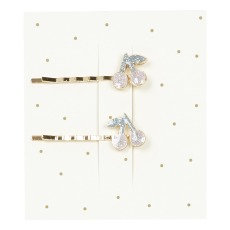 product-Bonpoint Cherry Hair Barrettes