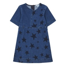 product-Stella McCartney Kids Stars Denim Dress